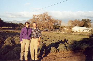 Dr. Susan & Mark visit a lavender farm to find out about soap ingredients.